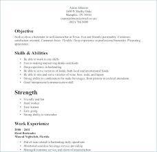 Restaurant Server Resume Sample From Restaurant Waiter Resume