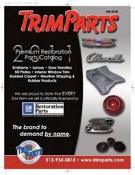 GM Restoration Parts Catalog By Trimparts - Issuu Used Truck Body In 25 Feet 26 27 Or 28 New Isuzu Fuso Ud Sales Cabover Commercial Used Truck Bodies For Sale Insinkerator Evolution Supreme Stainless Steel 1 Hp Continuous Feed Thommens 2007 Freightliner M2 106 Wliftgate 4331u Fargo Platform Stake Bodies By Cporation For 24 Ft Parts Department Capitol City Trailers And Specialty Vehicles Ma Full Service Dealer
