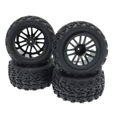 100 Truck Tires And Wheels Amazoncom 110 RC Rubber Arrow Rim Tyre Set 12MM Hex