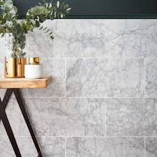 100 In Marble Walls Luxury Has A New Name Natural Carrara Tiles And Floors