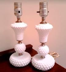 Hobnail Milk Glass Lamps Part 1 frou•fru•gal froo froo GAL