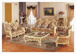 Hot SellingRococo Style Living Room Sofa Set Palace Royal Furniture European Rococo Classicf Urniture