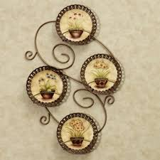 Tuscan Decorative Wall Plates by Outstanding Decorative Kitchen Plates For Wall Also And Racks