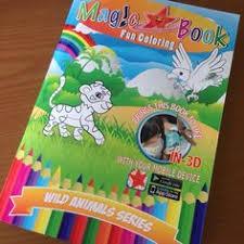 Magic Book Wild Animals Series And Magic Color AR For Kids Kon Go
