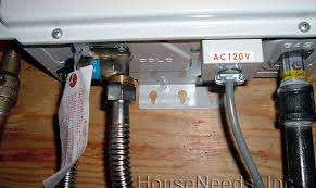 Simple Water Heater Pipe Connections Placement by Simple Water Heater Pipe Connections Placement Building