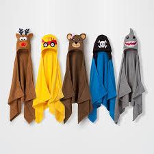 Mickey Mouse Bath Set Hooded Towels by Kids U0027 Hooded Bath Towel And Wash Mit Set Walmart Com