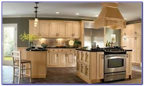 kitchen colors with light brown cabinets painting home design