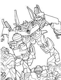 Printable Transformer Coloring Pages