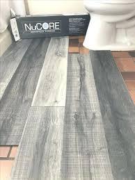 Grey Vinyl Plank Flooring Waterproof Lays Right On Top Of Your Existing Floor