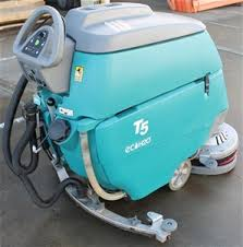 tennant t5 eco h2o mobile floor scrubber vacuum auction 0003
