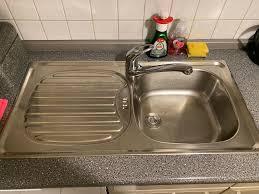 spülbecken waschbecken einbauküche küche niederdruck armatur