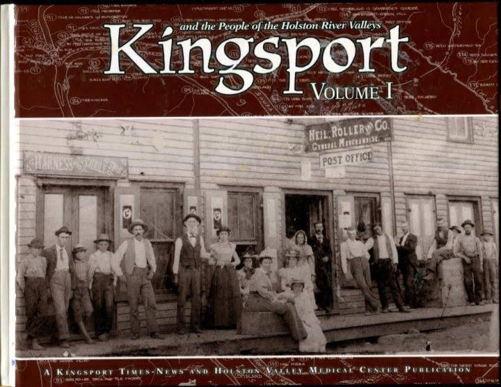 An UnCONVENTIONAL HISTORY of KINGSPORT: The Colorful Characters Who Created a City STORIES from VINCE STATEN [Book]