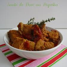 cuisiner un sauté de porc sauté de porc au paprika la cuisine des anges