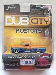 100 85 Chevy Truck Parts Jada Dub City Kustoms 19 Silverado C10 Pickup Die