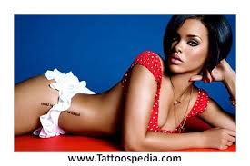 Rihanna Tattoos Chest Meaning 4