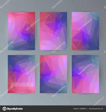 100 Design21 Set Flyer Background Modern Triangle Design21 Stock Vector