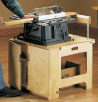 bench top table saw station plan woodworking plans and information