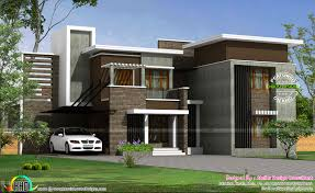 3 Bedroom House Plans 1800 Sq Ft Unique Contemporary Floor Plan Kerala Home Design
