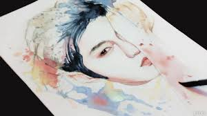 Tumblr Tuesday Watercolor Eteru Art Hypnotic To Fill