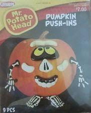 Pumpkin Push Ins by Playskool Mr Potato Head Pumpkin Push Ins Princess 9 Parts