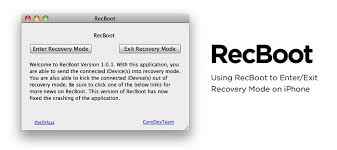RecBoot to Fix iTunes Error 3194 1015 and Get Out of Recovery Mode
