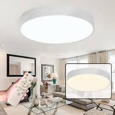 details zu 36w 48w led dimmbar deckenle deckenleuchte effektle wohnzimmer rund