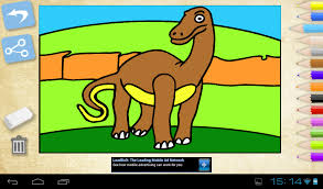 Coloring Dinosaurs Is The Best App To Color Pictures Drawings For Painting Playing And Having Fun With Your Children