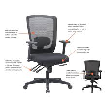 Alera Mesh Office Chairs by Alera Envy Series Mesh Mid Back Multifunction Chair By Alera