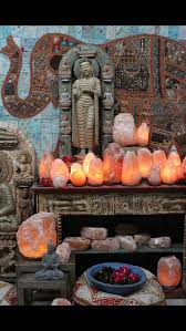 Earthbound Salt Crystal Lamps by 1000 Images About Wbm International On Pinterest Lamps Salts