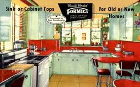 The 50s And 60s Kitchen Was All About Modern Conveniences New Manufactured Finishes That Made Latest Looks More Affordable For A Growing