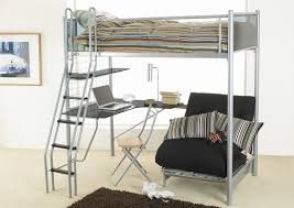 Desk Bunk Bed Combo by Functional Room Furniture Ideas U2013 Metal Bunk Bed And Desk Combo