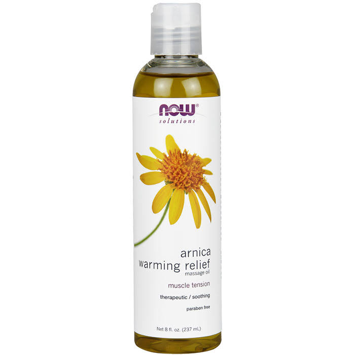 Now Arnica Warming Relief Massage Oil