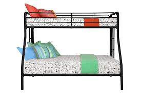 Dorel Bunk Bed by Dorel Home Products Twin Over Full Bunk Bed Black Amazon Co Uk