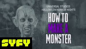 Syfy 31 Days Of Halloween 2017 by Beware The Scare Monster Make Up Tutorial