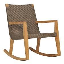 Polywood Rocking Chair Target by Quinta Teak U0026 Woven Rocking Chair Janus Et Cie Golden Oak