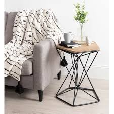 labriola metal end table zimmer deko