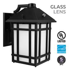 lights outdoor lighting wall mount dusk to led lantern with