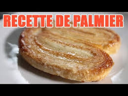 gateau a pate levee faire un palmier pâtisserie gâteau avec pate feuilletee sucree