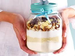backmischung im glas süße geschenke selber machen lecker