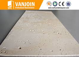 resistant soft ceramic tile for high building wall decorative