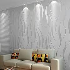 3d wallpaper 10m welle luxus beflockung rolls für home schlafzimmer wohnzimmer tapete wandverkleidung dekor vlies minimalistischen tapeten silber
