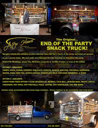 Read All About It! The Original.... End Of The Party Snack Truck ...