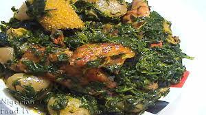 Haitian Pumpkin Soup Tradition by Edikang Ikong Soup Recipe 1kg Spinach Fluted Pumpkin Leaves