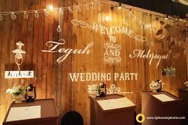 Teguh And Melisyahs Wedding Reception Venue At Ritz Carlton Kuningan Decorated By DeSketsa Decoration
