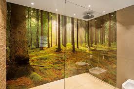 glaswand badezimmer contemporain autres péètres par
