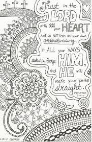 Bible Verse Coloring SheetsAdult