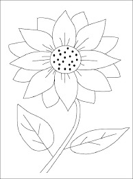 Sunflower Coloring Page Flower Printable Sheets Pages Mandala