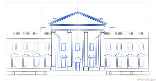Full Size Of Coloring Pageselegant White House Drawing 6 How To Draw Pages Large