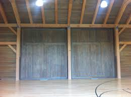 Custom Barn Doors – Indoor Basketball Court 3 | AJ Garage Door ... Door Design Cool Exterior Sliding Barn Hdware Doors Garage Hinged Style Doorsbarn Build Carriage Doors For Garage With Festool Domino Xl Youtube Carriage Zielger Inc Roll Up Shed And Sales Subject Related To Fantastic Photos Concept Diy For Pole And Windows Barns Direct Dallas Architectural Accents The Inspiration Yard Great Country Garages Bathrooms Kit