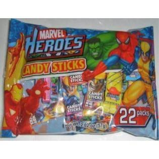 Marvel Heroes Candy Stick